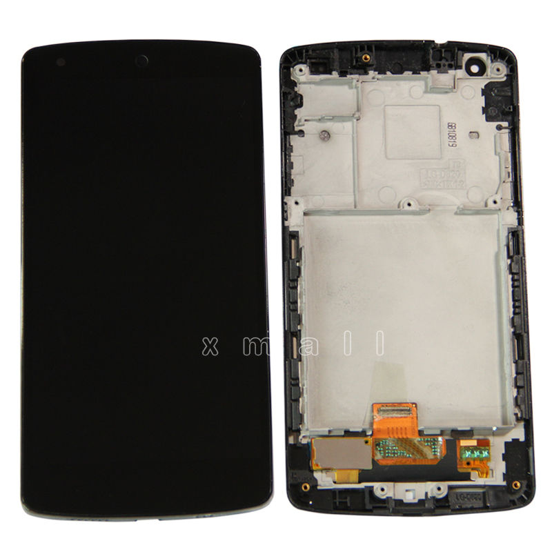 Frame LCD Display Touch Digitizer Screen for LG Google Nexus 5 D820 D821